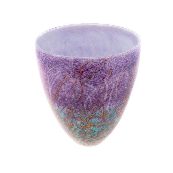 Copy of Purple meadow flat vase