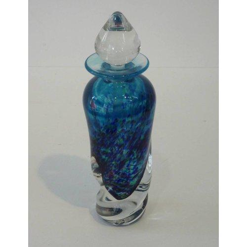Martin Andrews Twist perfume bottle blue