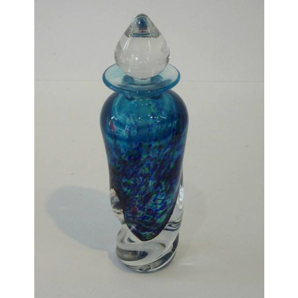 Twist perfume botella azul