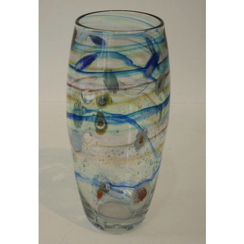 Martin Andrews Salsa clear slim vase