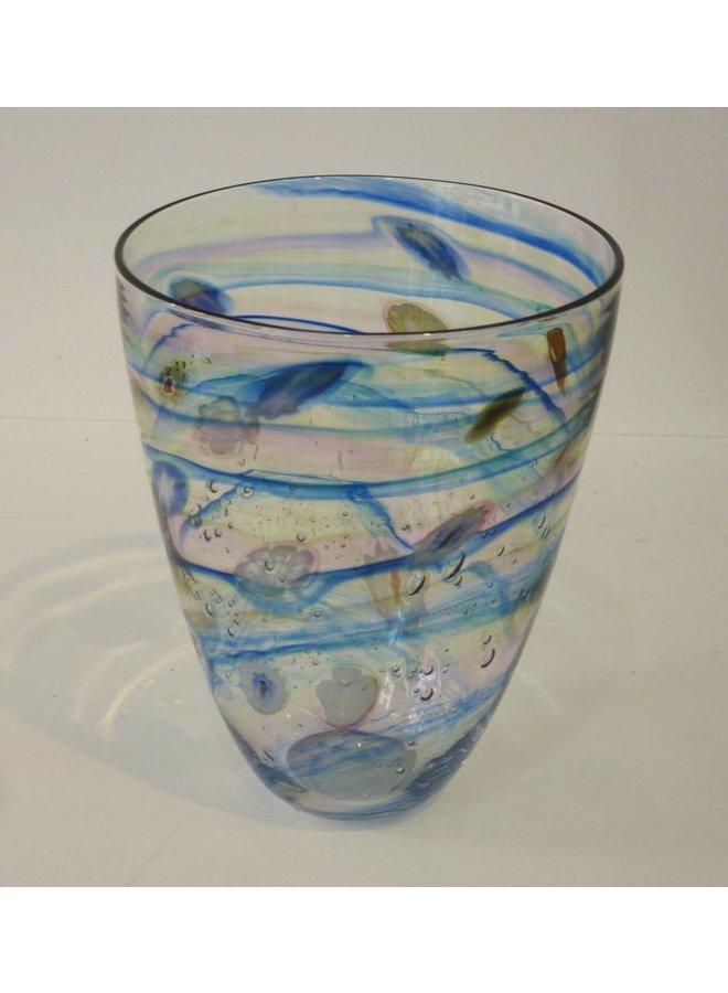 Salsa klar breite Vase