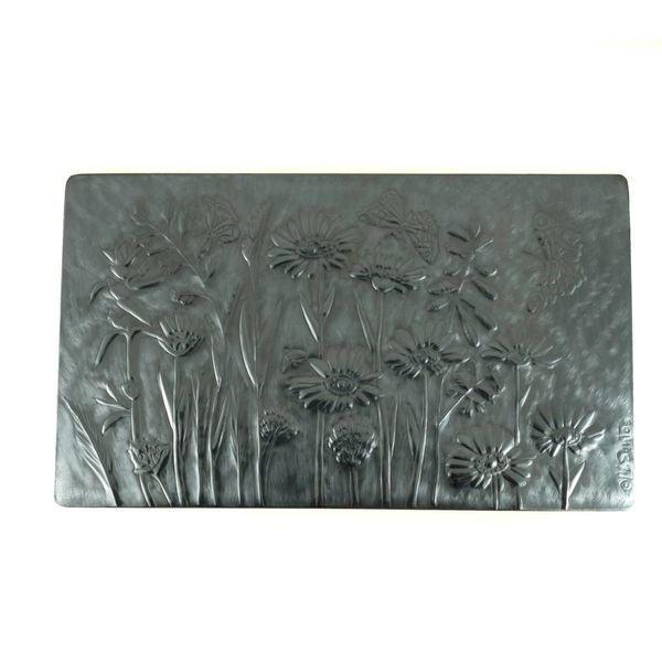 Butterflies  Wood and Pewter hinged box 4 sections
