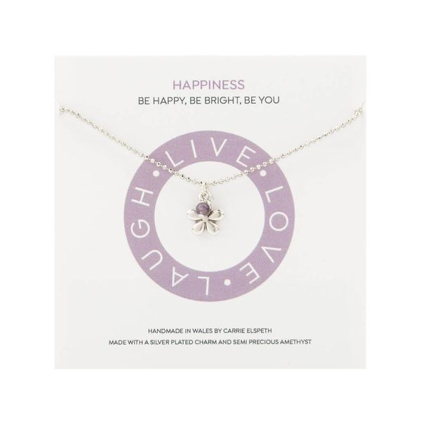 Happiness Mantra Necklace