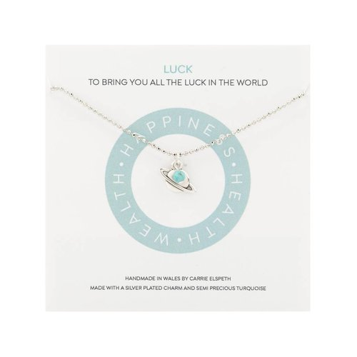 Carrie Elspeth Luck Mantra Necklace