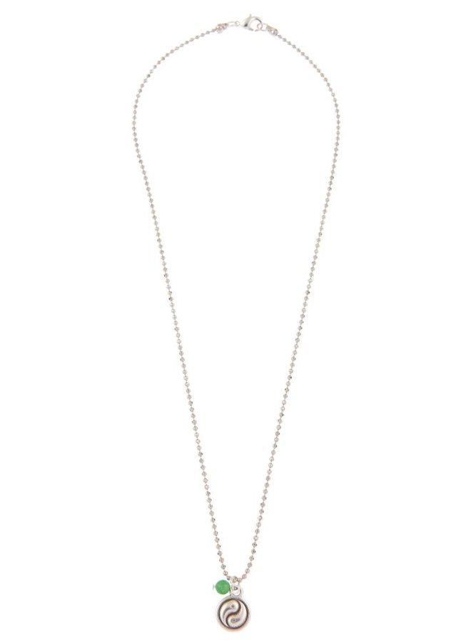 Balance-Mantra-Halskette