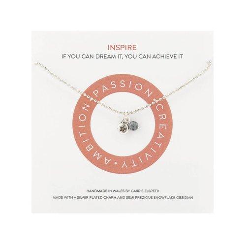 Carrie Elspeth Inspirar collar de mantra