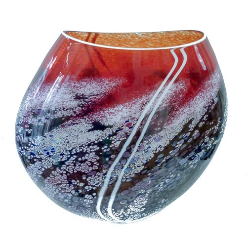 Martin Andrews Sunset flat vase large