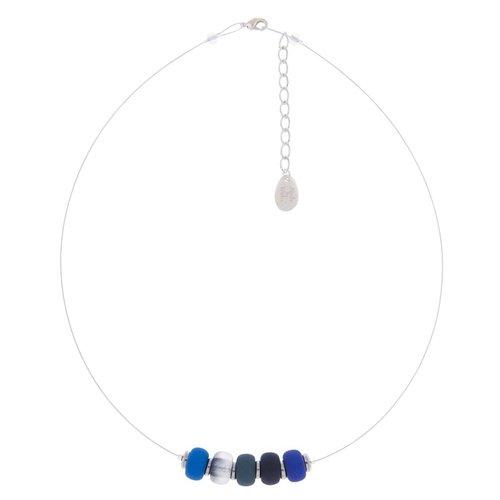 Carrie Elspeth Glacier clique link necklace