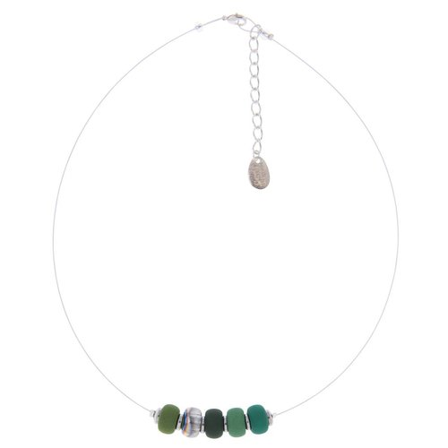 Carrie Elspeth Forest clique link necklace