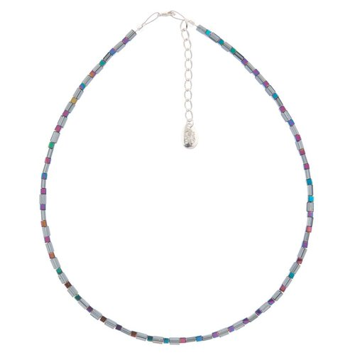Carrie Elspeth Halskette mit Graphitschimmer