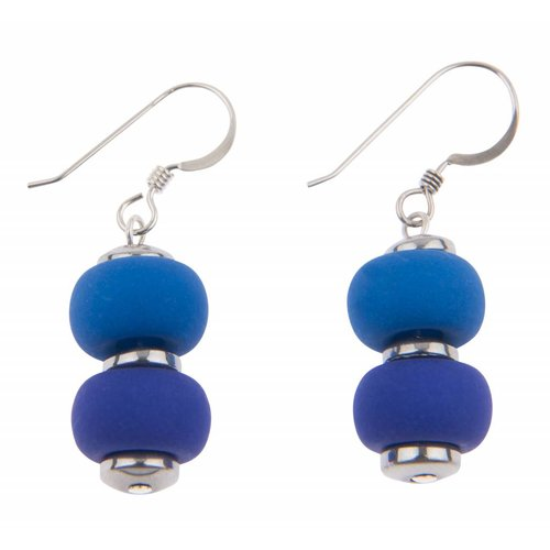 Carrie Elspeth Bright Glacier Clique Earrings