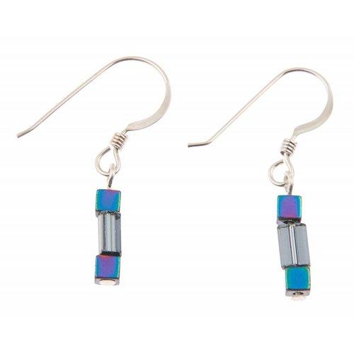 Carrie Elspeth Graphite Gleam Earrings