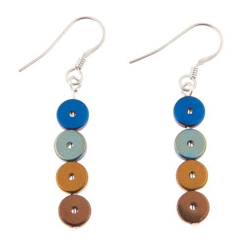 Carrie Elspeth Multi Platters Earrings