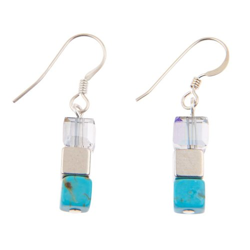 Carrie Elspeth Turquoise Naturals Earrings