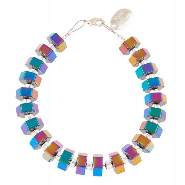 Spectrum Hexagon Bracelet