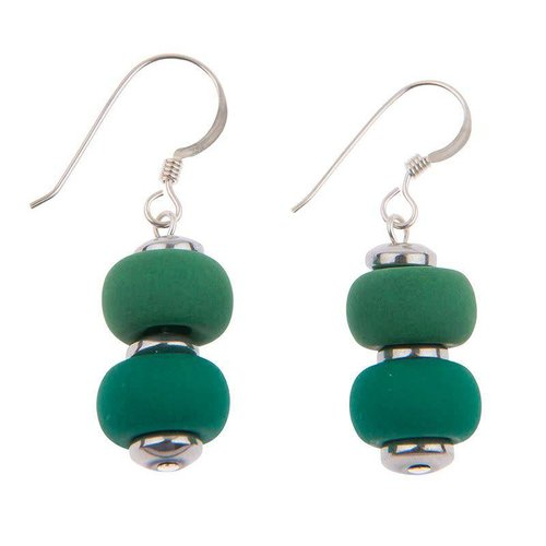Carrie Elspeth Bright ForestClique Earrings