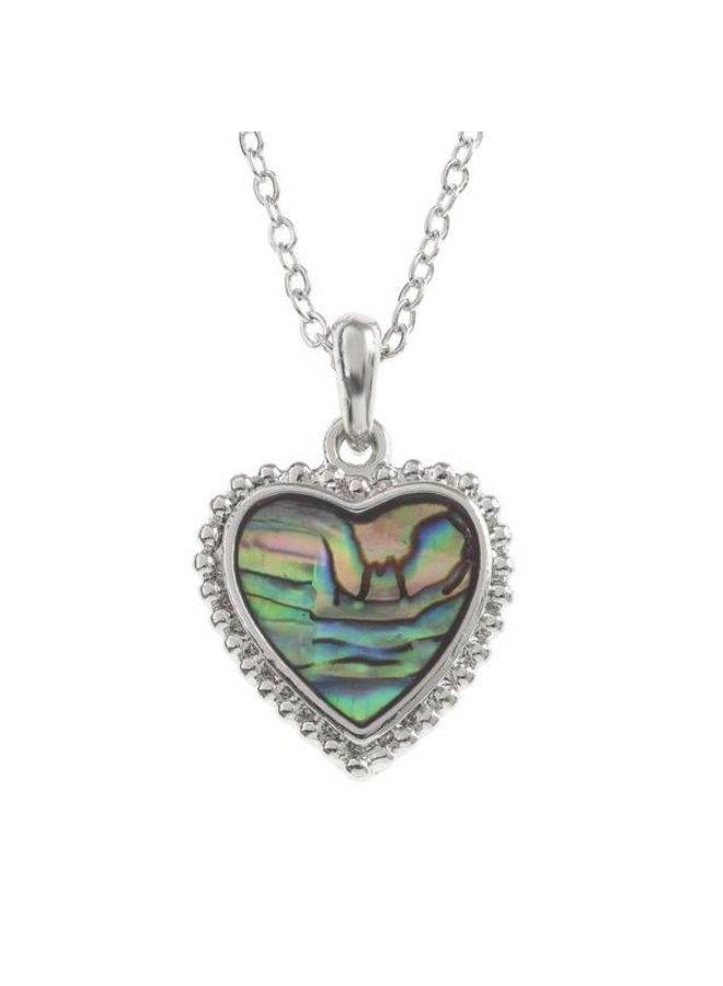 Halskette mit eingelegter Paua-Muschel