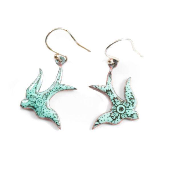 Earrings swallow
