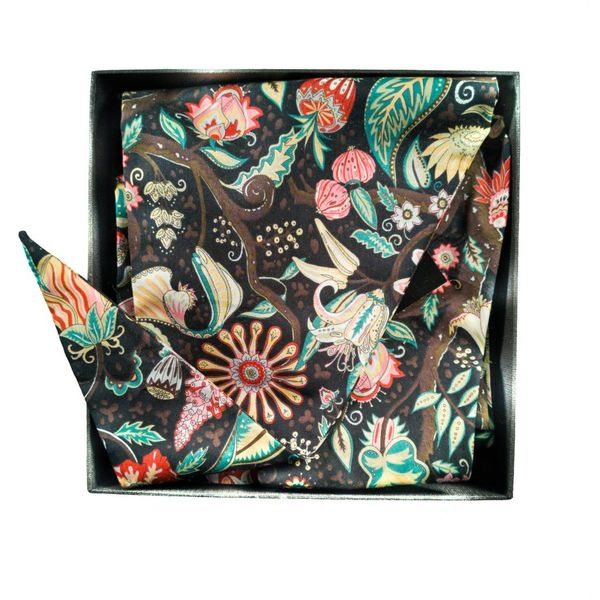 Liberty Cotton Schal Herbst Baum Eden Boxed