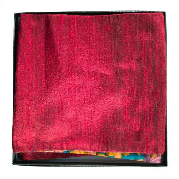 Pañuelo de algodón y seda Liberty Flowers en caja