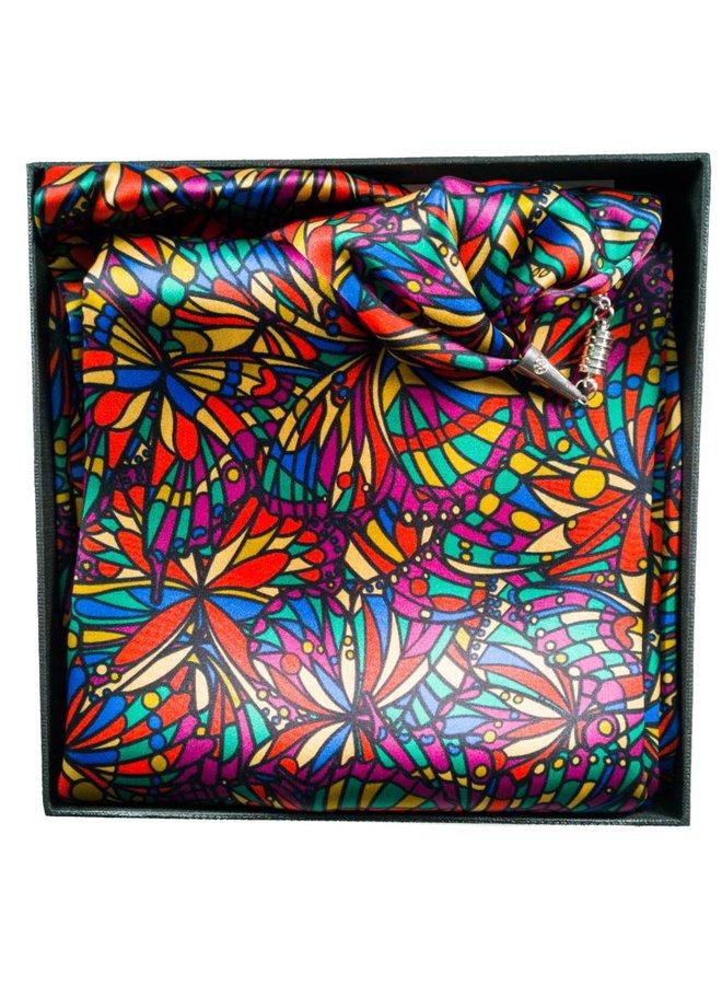 Bright Jewel Satin und Seidentuch mit Magnetverschluss Boxed