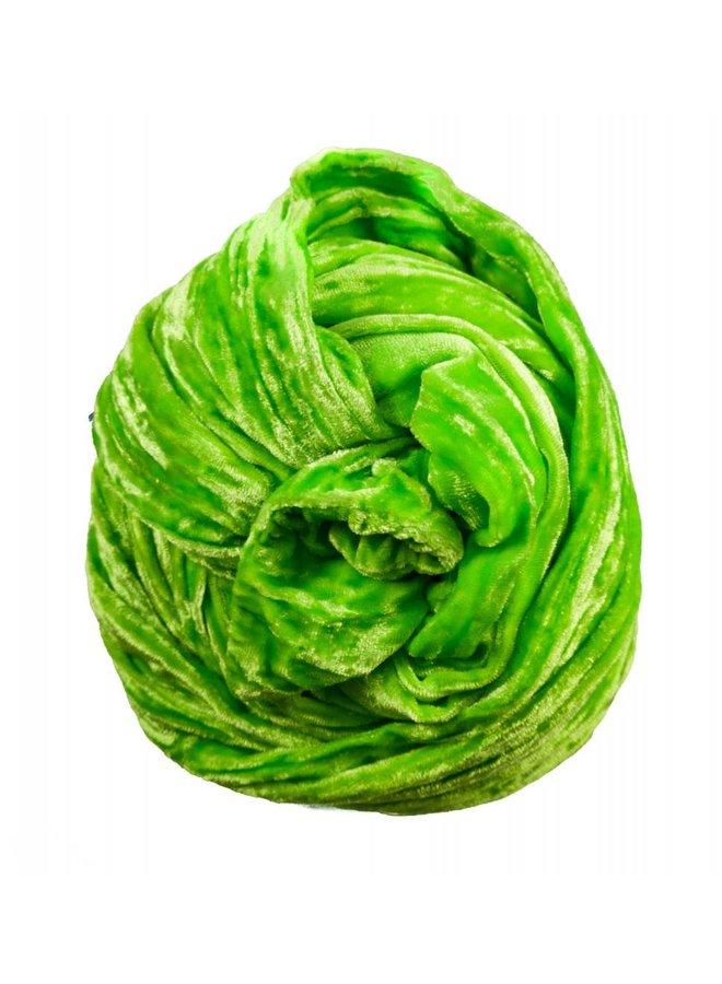 Lime Double Velvet Schal