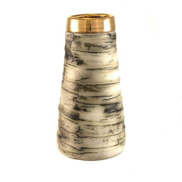 Textura con forma cónica lustre dorado