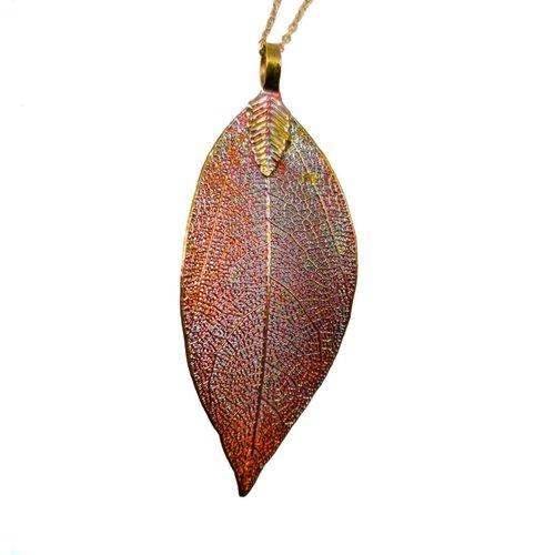 Roxburgh Copper  Magnolia Pendant