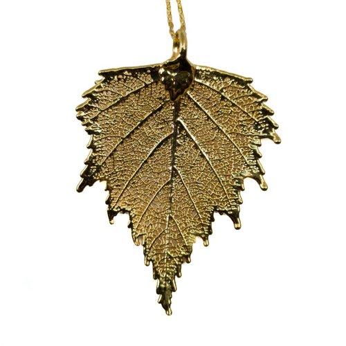Roxburgh Silver Birch pendant gold