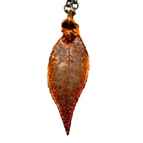 Forever Leaves Colgante de hoja de cobre Evergreen 2