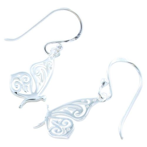 Reeves and Reeves Butterfly Earrings