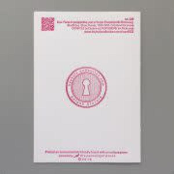 Lips Be Mine tarjeta de tipografía hecha a mano