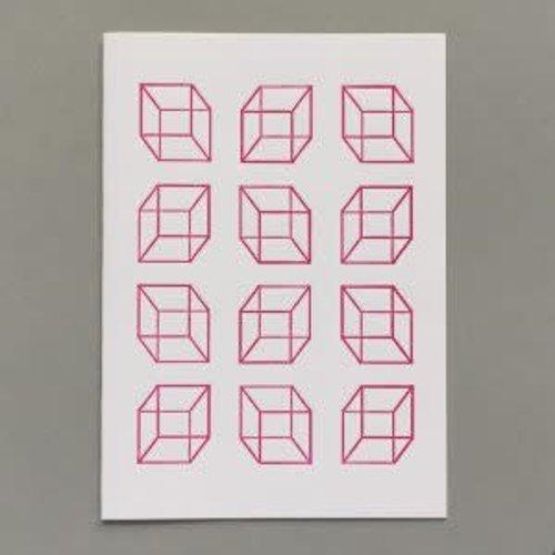 Keyhole Collection Cubos de tarjeta artesanal