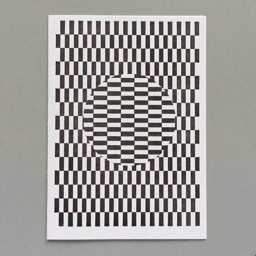 Keyhole Collection Ouchi Hand gestaltete Buchdruck-Karte