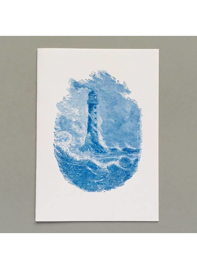 Lighthouse hand crafted card