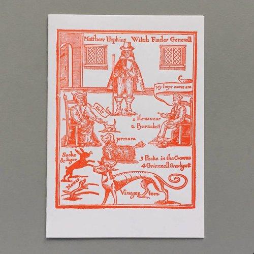 Keyhole Collection Hexenfinder General Hopkins handgemachte Karte