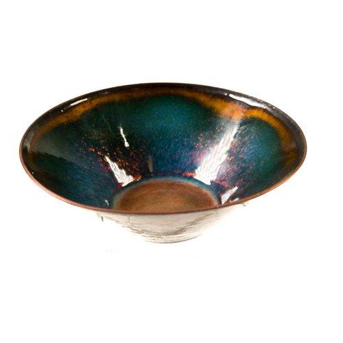 Pat Johnson Enamelled Copper Bowl 119