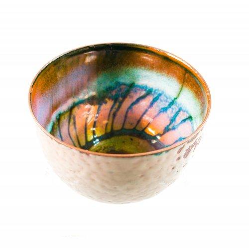 Pat Johnson Enamelled Copper Bowl 121