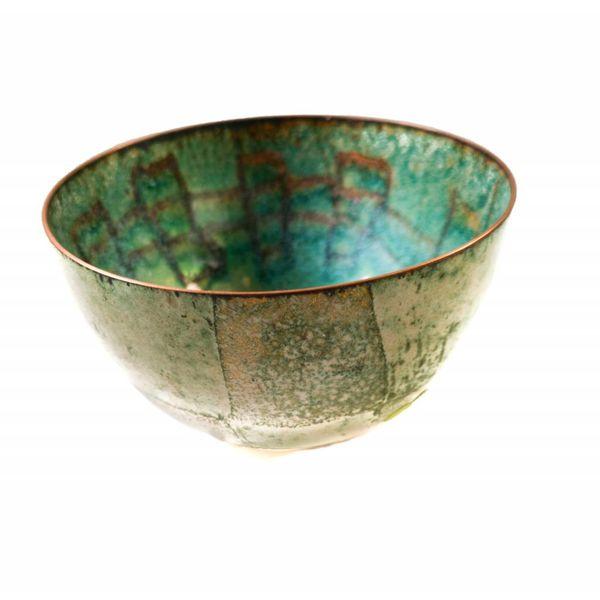 Enamelled Copper Bowl 126