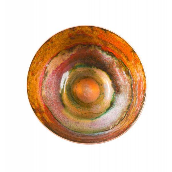 Tazón de cobre esmaltado 127