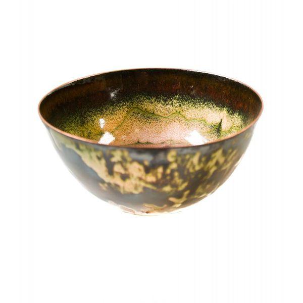 Tazón de cobre esmaltado 138