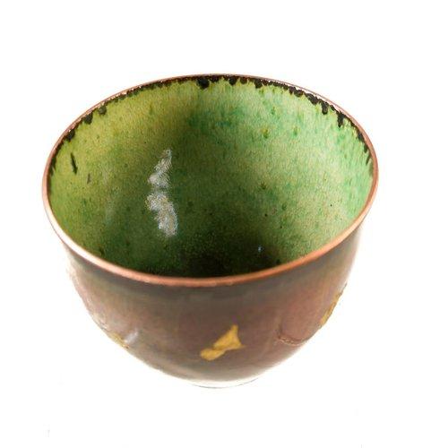 Pat Johnson Enamelled Copper Bowl 148
