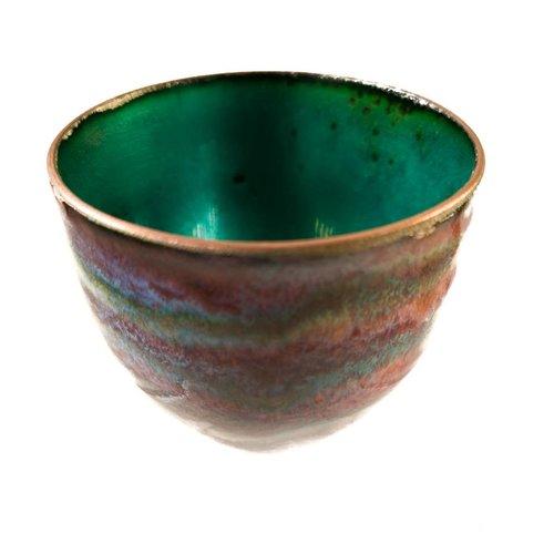 Pat Johnson Enamelled Copper Bowl 147