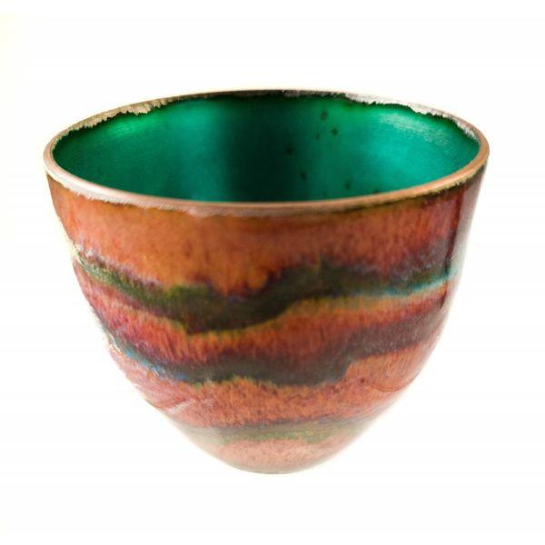 Tazón de cobre esmaltado 147