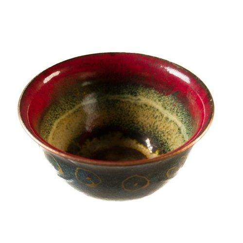 Pat Johnson Enamelled Copper Bowl 145