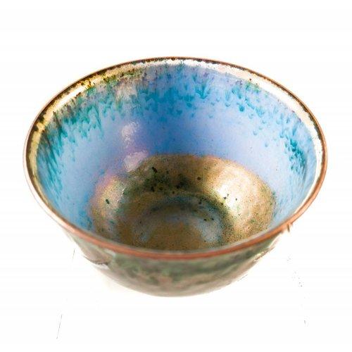 Pat Johnson Enamelled Copper Bowl 143