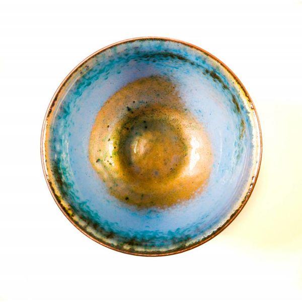 Emaillierte Kupferschale 143