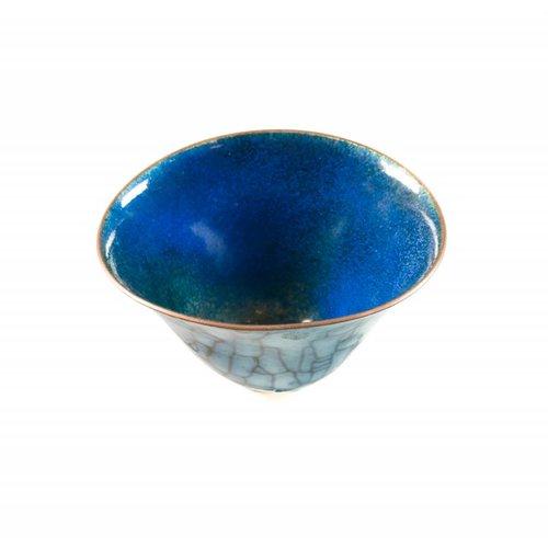 Pat Johnson Enamelled Copper Bowl 142