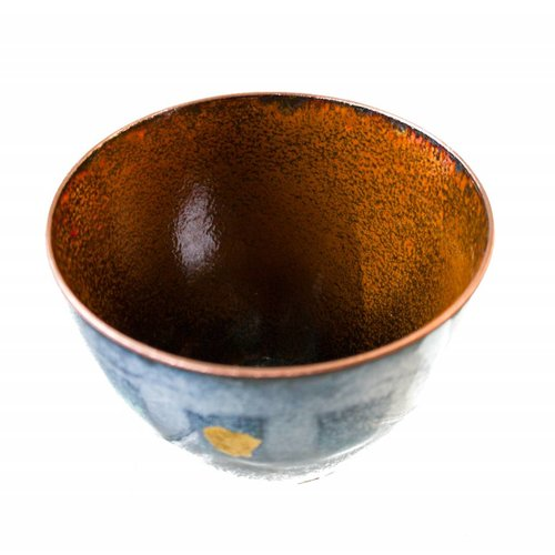 Pat Johnson Enamelled Copper Bowl 150