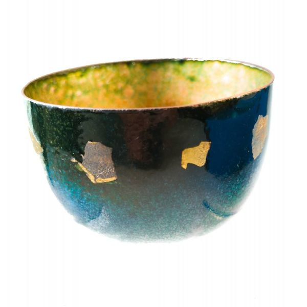 Enamelled Copper Bowl 152